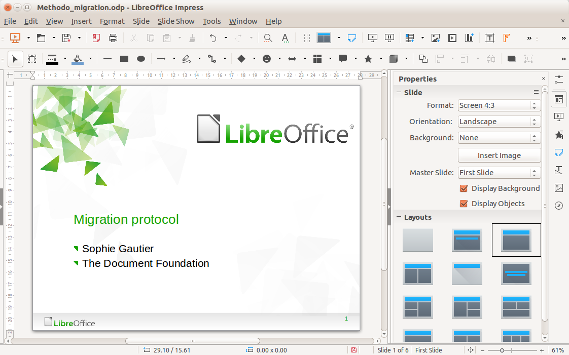 libreoffice 5.1.6.2