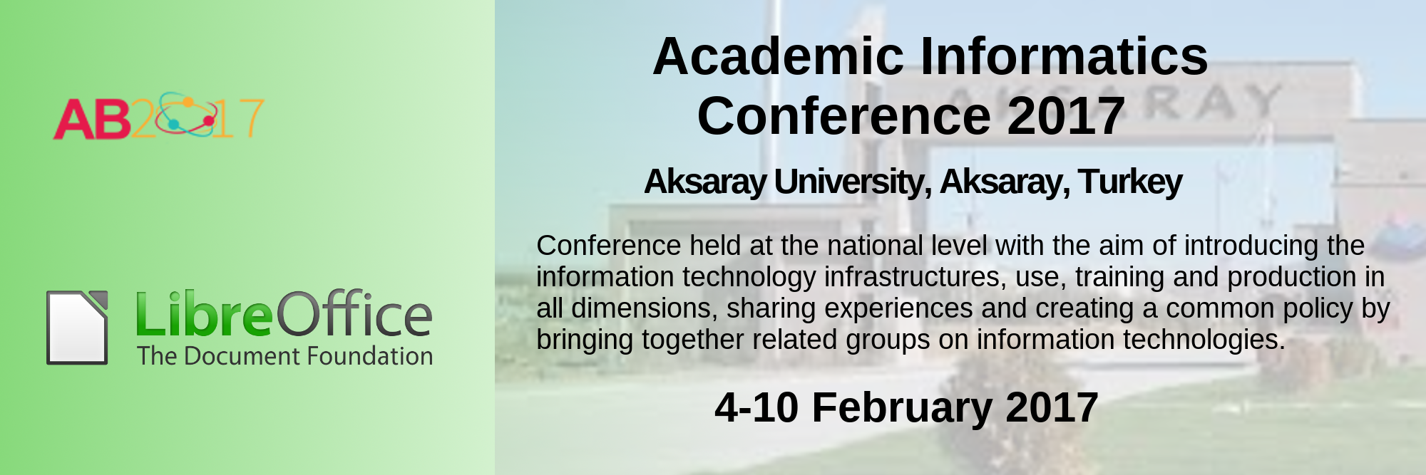 02 04 10Feb2017 AcademicInformatics Conference2017 EN