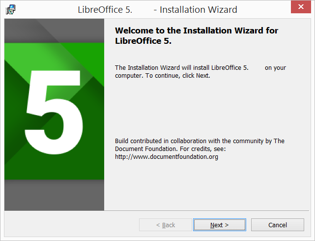 libreoffice for windows 10 pc