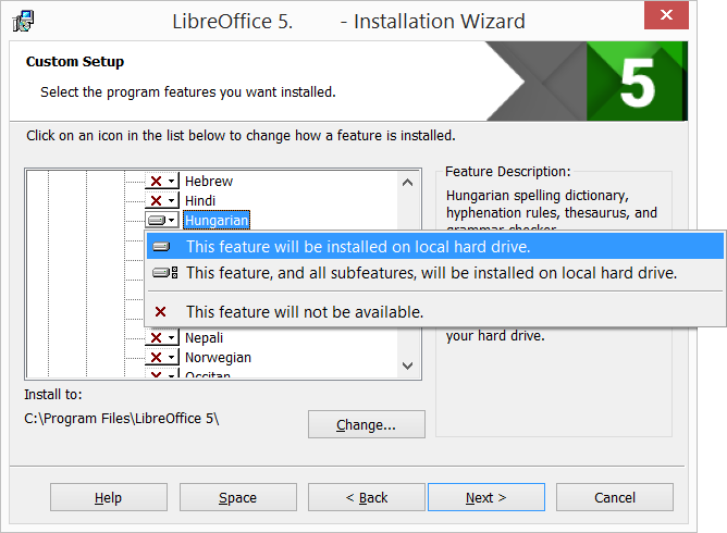libreoffice writer for windows