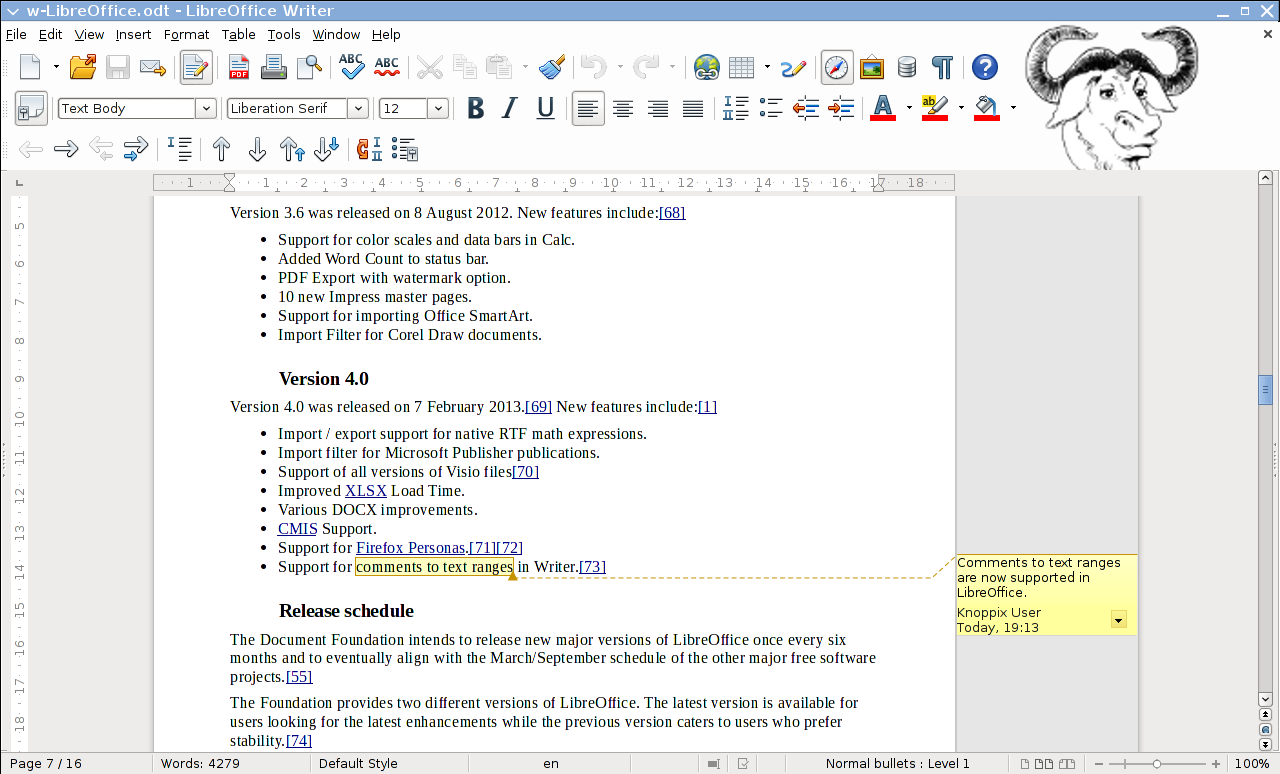 LibreOffice Timeline | LibreOffice - Free Office Suite - Fun